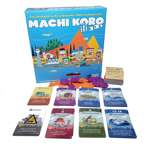 Machi Koro 5th Anniversary: The Expansions