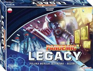 Pandemic Legacy Season 1 (Blue Box)
