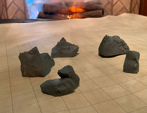 Scatter Terrain Pack: Rock Set 2