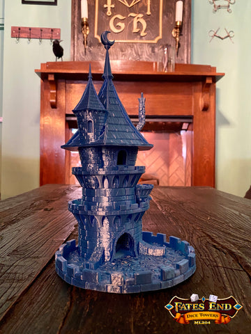Fates End Wizard Dice Tower - Made to Order