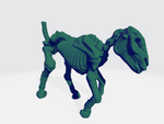 Skeletal Horses (Set of 3)