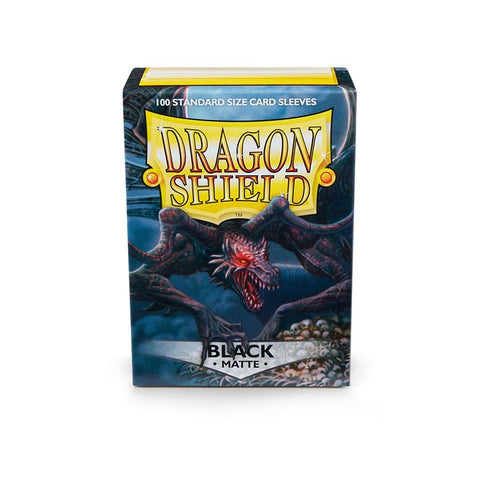 Dragon Shield Black Matte Sleeves (100ct)