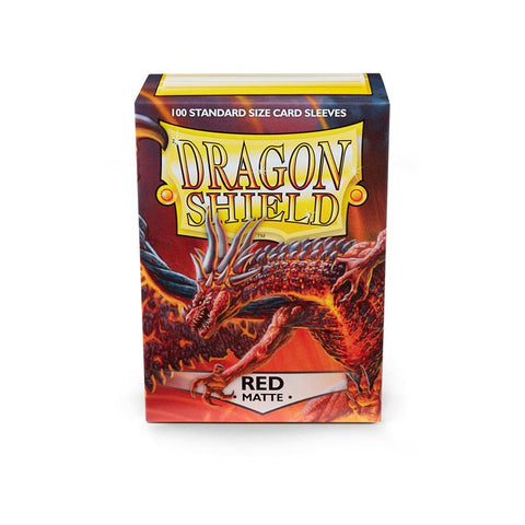 Dragon Shield Red Matte Sleeves (100ct)