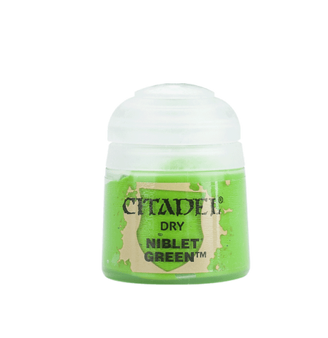 Citadel Paints: Niblet Green (Dry)