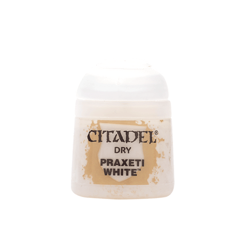 Citadel Paints: Praxeti White (Dry)