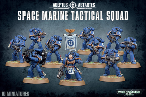 Warhammer 40,000: Space Marine Tactical Squad