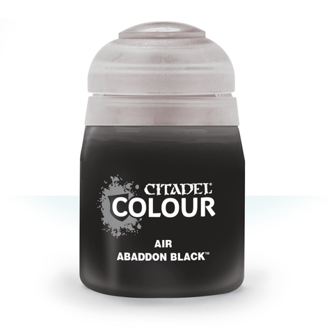 Citadel Paints: Abaddon Black (Air)