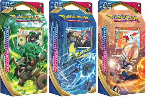 Pokémon: Sword & Shield Theme Decks