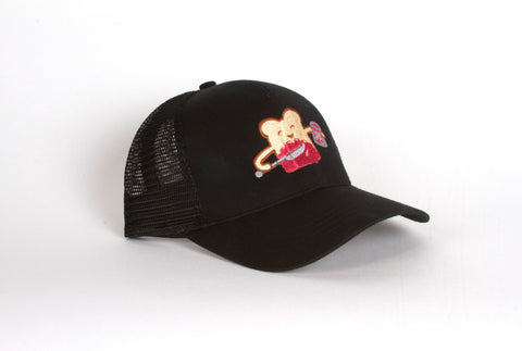 Toast Guy Hat-Black