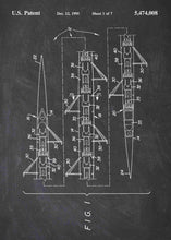 8 person rowing shell patent print, rowing shell poster in the style chalkboard