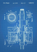rotary engine patent print, rotary engine poster in the style blueprint