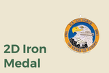 2D Iron Medal