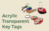 Acrylic Transparent Keytags