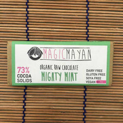 Magic Mayan Raw Chocolate Bars