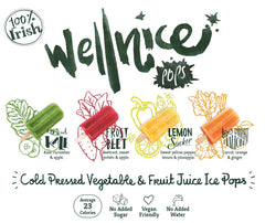 Wellnice Pops flavours