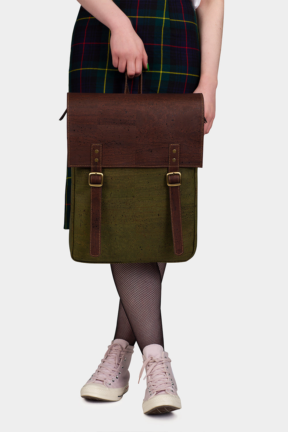 The Everyday Vegan Leather Forest Backpack