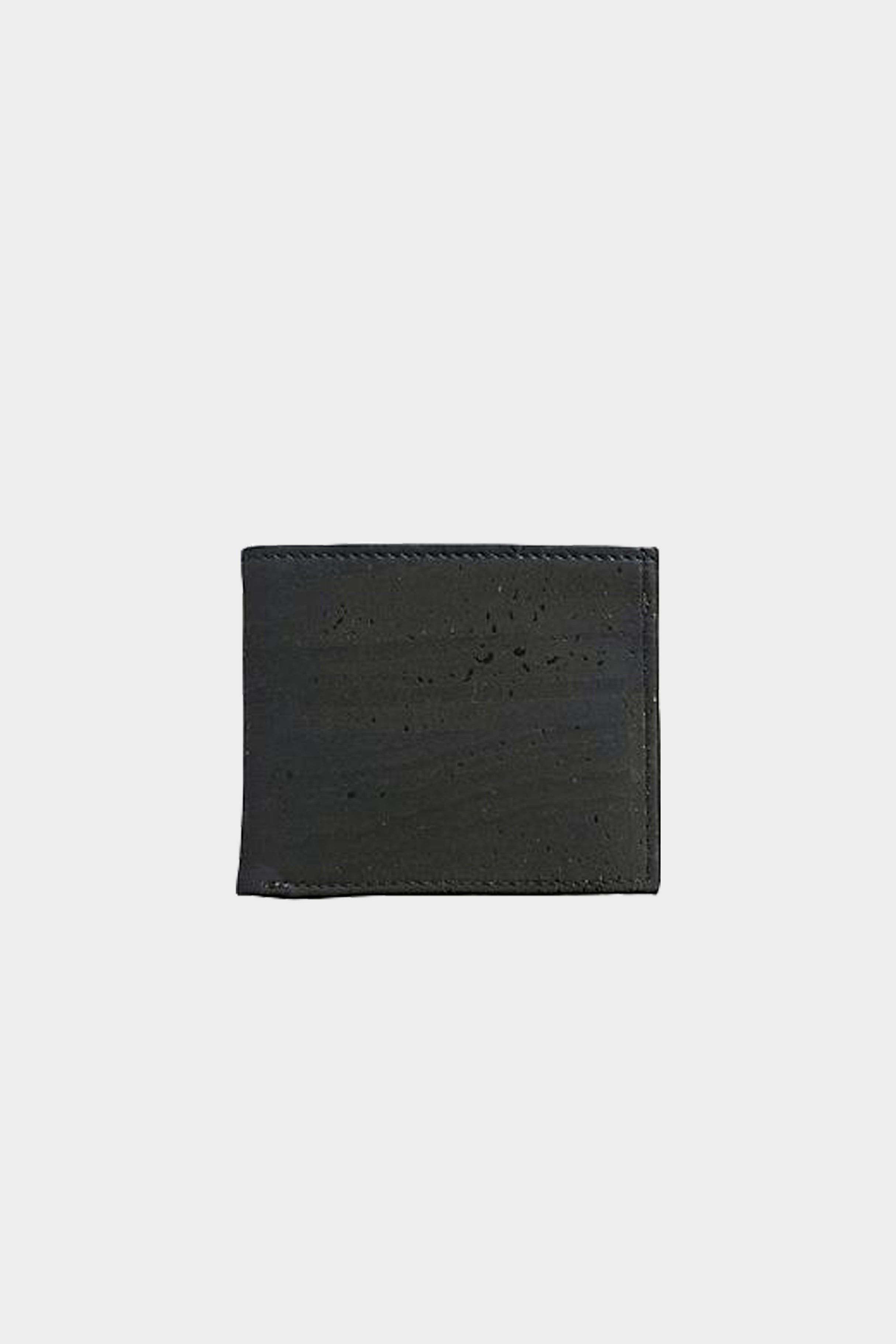 The Classic Vegan Leather Black Wallet