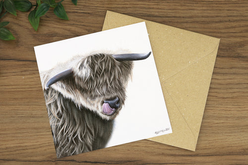 Rowan Greetings Card