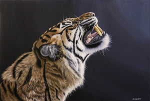 Sumatran Tiger Original Artwork