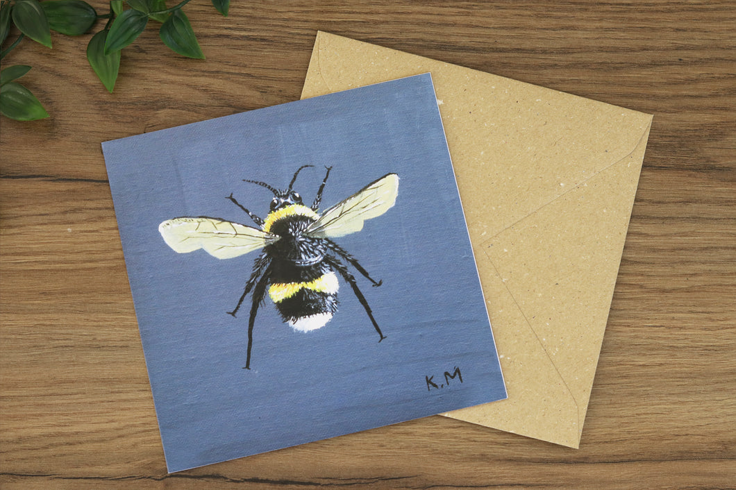 Bee Greetings Card