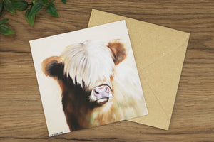 Toffee Greetings Card