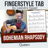 Bohemian Rhapsody (Queen) - Full Fingerstyle Tablature