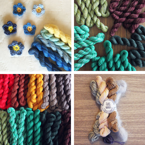 Recycled Yarn Minis