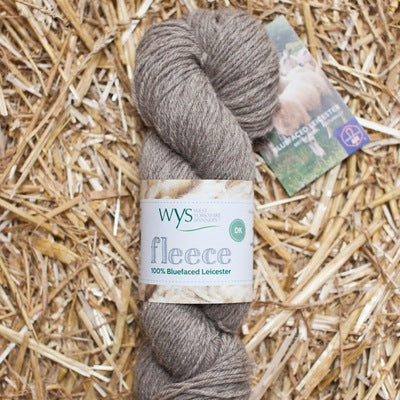 """Light Brown"" 100% BFL DK"