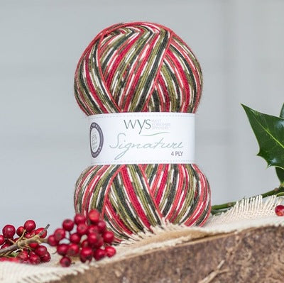 """Holly Berry"" Signature 4ply"