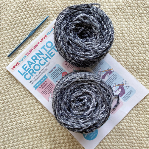 Beginner Crochet Kit- Aran!