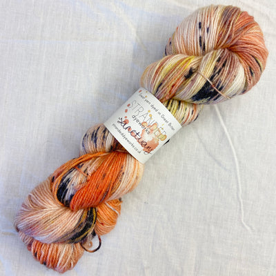 """Koi"" - Sanctuary BFL/Bamboo Sock"