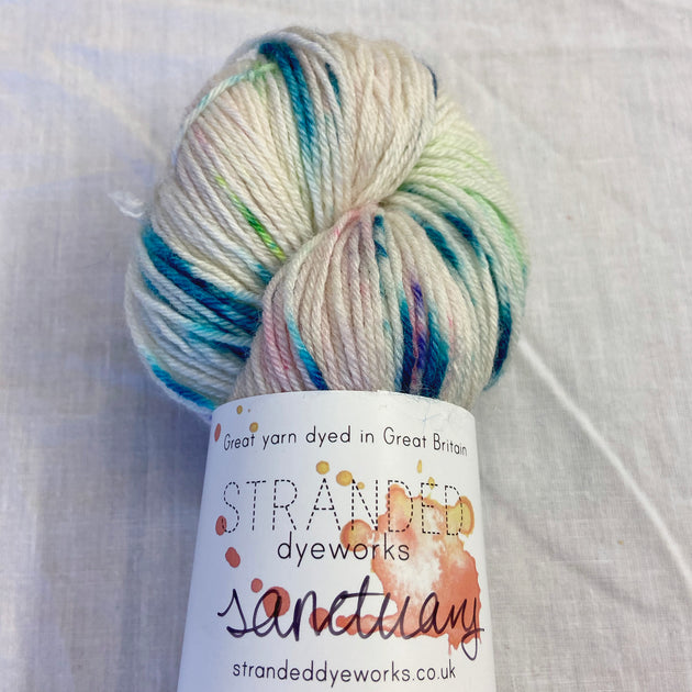 """Disco Pop"" - Sanctuary BFL/Bamboo Sock"