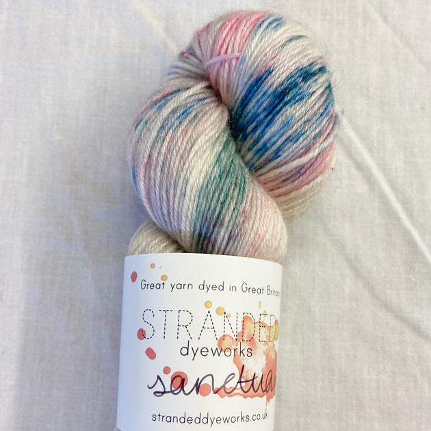 """Yesterday's Bouqet"" - Sanctuary BFL/Bamboo Sock"