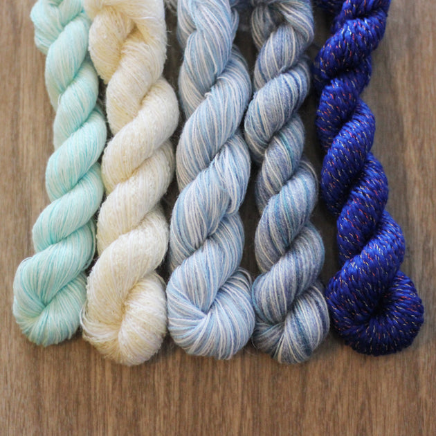 Elsa- Recycled Mini Skeins 50g Sock