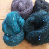 MIDNIGHT SWIM Tweed Carded nests 50g