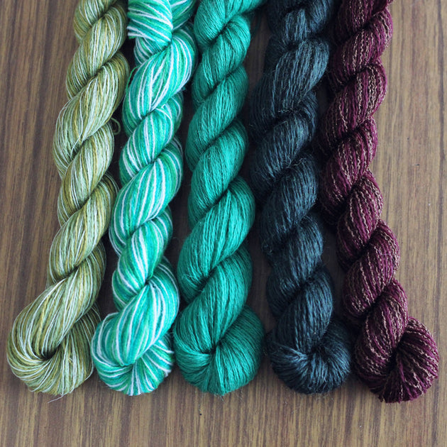 Hulk- Recycled Mini Skeins 50g Sock