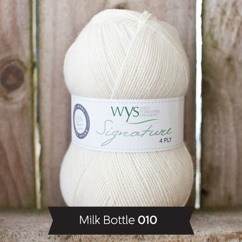 """Milkbottle"" Signature 4ply"