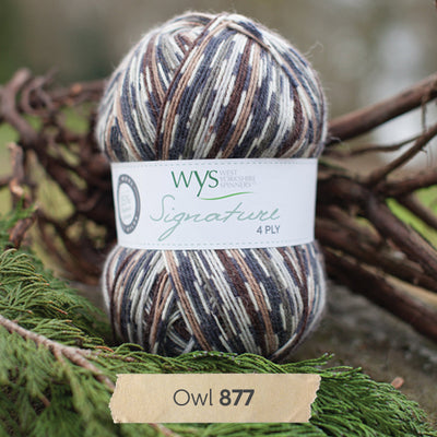 """Owl"" Signature 4ply"