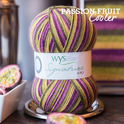 """Passionfruit Cooler"" Signature 4ply"