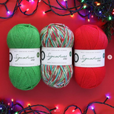 """FAIRY LIGHTS"" 2018 Xmas Signature 4ply"