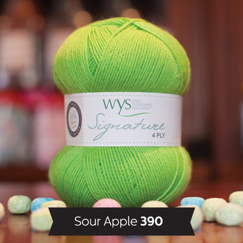 """Sour Apple"" Signature 4ply"
