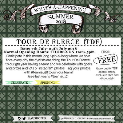 Tour De Fleece :: 7th-29th July 2018