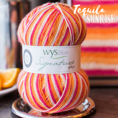 """Tequila Sunrise"" Signature 4ply"