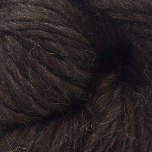 """Black Shetland"" British Super Chunky 200g"