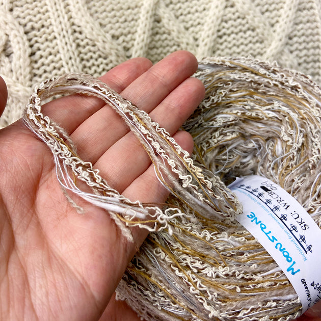 """Moonstone"" Super Chunky Recycled Yarn"