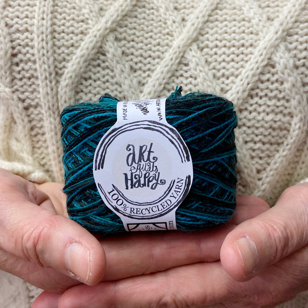 """Leave You Breathless"" DK Recycled Yarn"