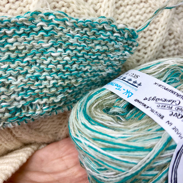 """Toothpaste"" DK Recycled Yarn"