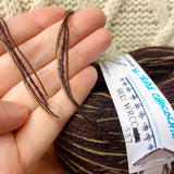 """Triple Chocolate"" DK Recycled Yarn"