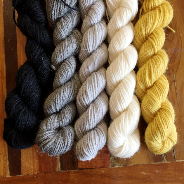 Hufflin' mini skeins! 100g 4ply Sock
