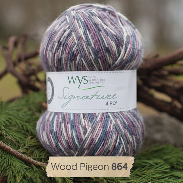"""Wood Pigeon"" Signature 4ply"